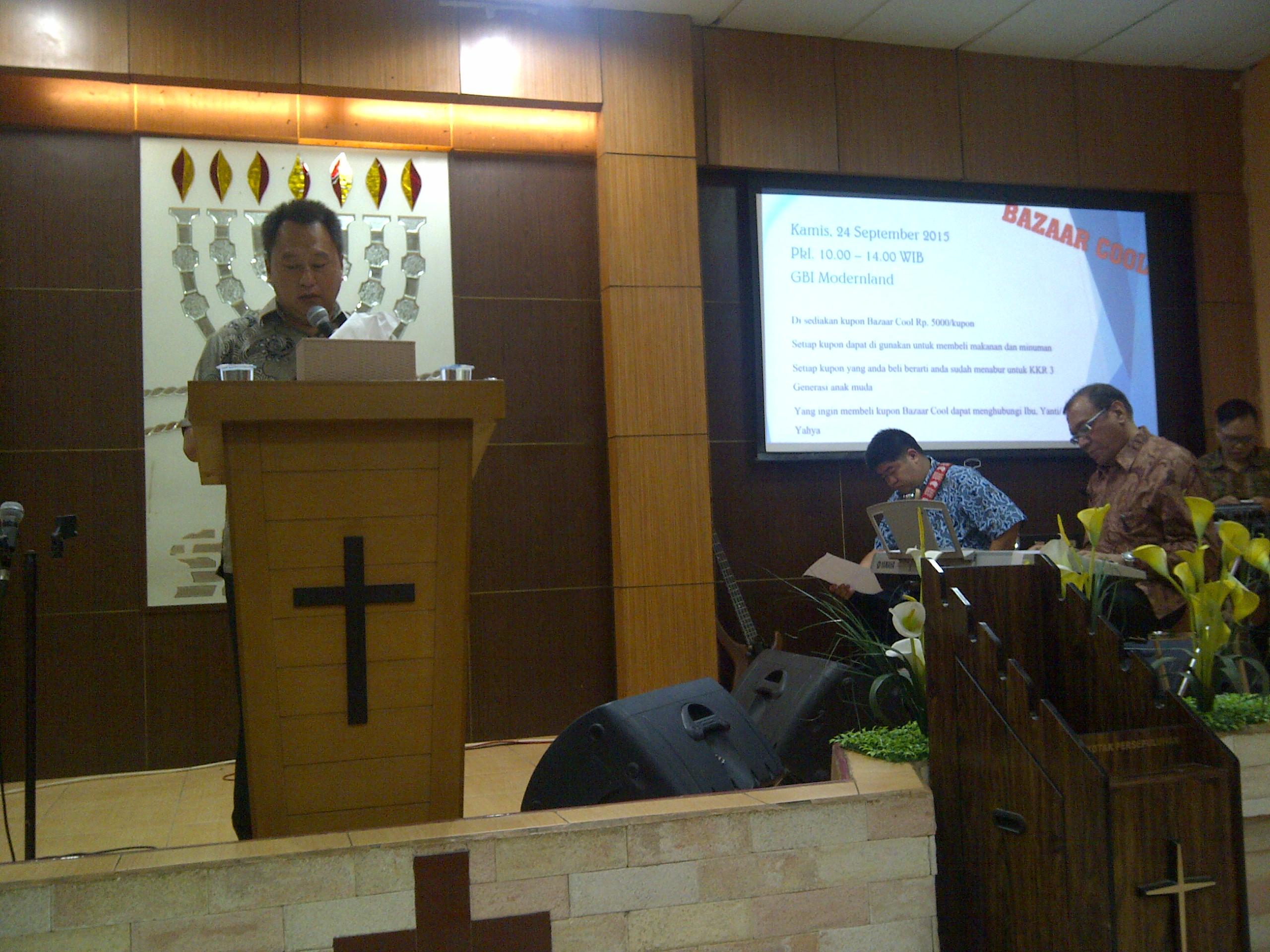 GBI Kp.Melayu .Cab.GBI Moderland - Tangerang